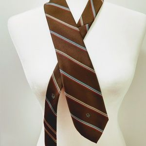Christian Dior tie striped